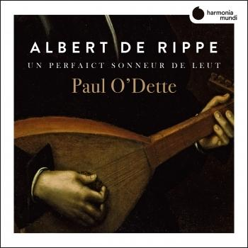 Cover Rippe: Works for lute 'Un perfaict sonneur de Leut'