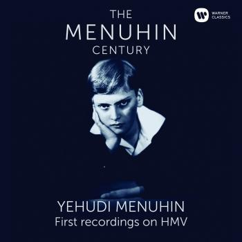 Cover Menuhin - The First Recordings on HMV (Remaster)