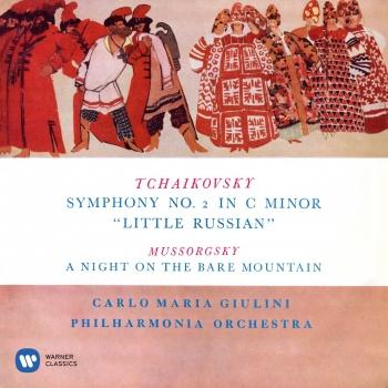 Cover Tchaikovsky: Symphony No. 2 'Little Russian' - Mussorgsky: A Night on the Bare Mountain (Remastered)