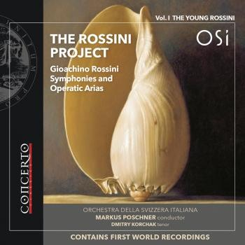 Cover The Rossini Project, Vol. 1: The Young Rossini