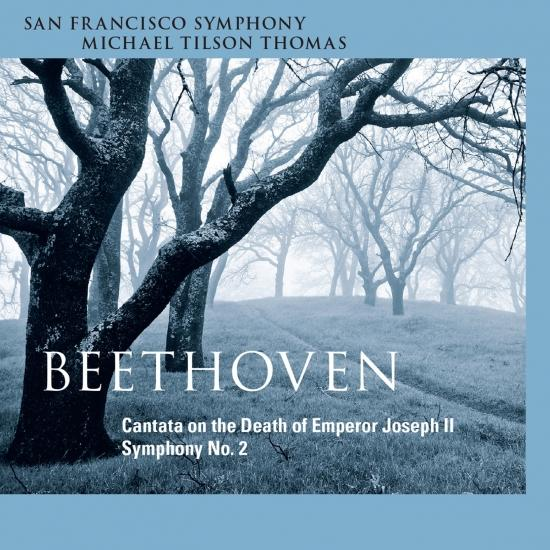 Cover Beethoven: Cantata on the Death of Emperor Joseph II - Symphony No. 2