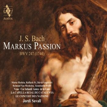 Cover Bach: Markus Passion, BWV 247