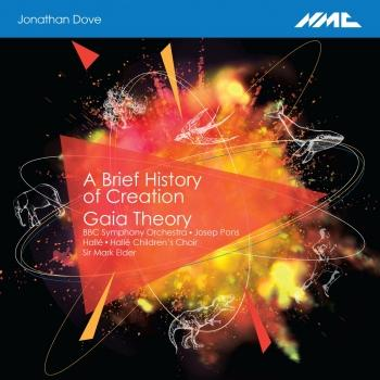 Cover Jonathan Dove: A Brief History of Creation & Gaia Theory